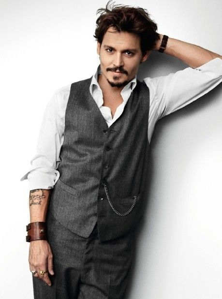 What was that you said!? I wasn't paying attention. I was lost somewhere between the depp(ths) of Johhny's eyes