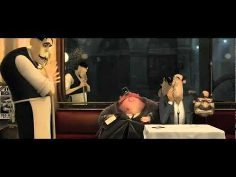 French Toast, short animation movie...pause to infer at 1:50, 3:35, 4:25, and 6:24; great for plot, character and theme also