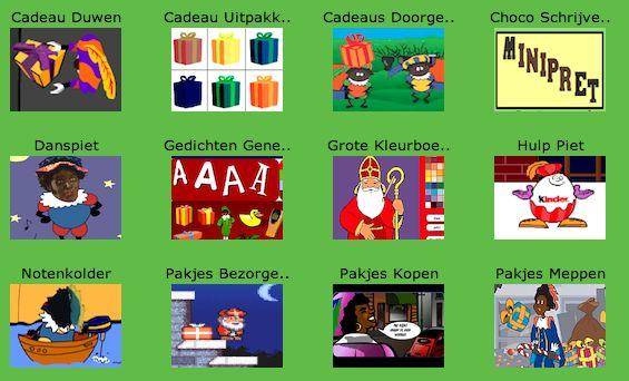 Sinterklaas spelletjes online