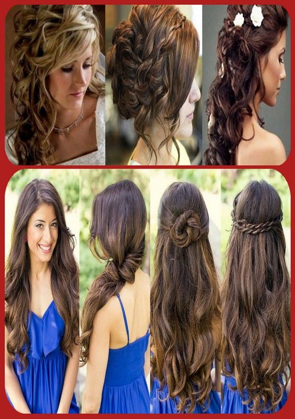 10 Stylish Hairstyles And Haircuts For Teenage Girls   #Haircuts #Shairstyles #LongHair