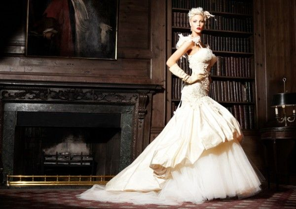 Elegant Winter Avant Garde Wedding Dresses