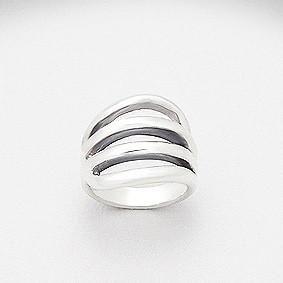 Julianne Silver Ring
