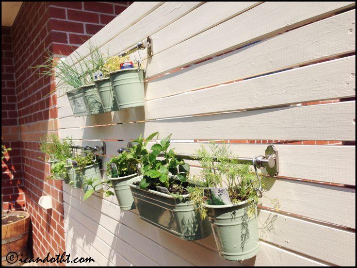 Diy Tiered Backyard : about Backyard Gardening on Pinterest  Hanging Herb Gardens, Diy