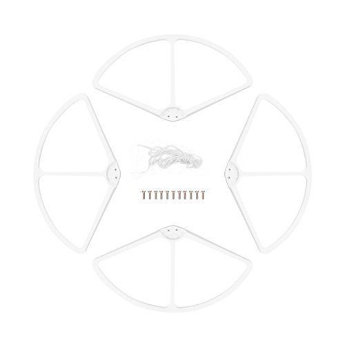 4X Propeller Prop Protective Guard Protector Bumper For DJI Phantom 2 Vision plastic white, by LC Prime