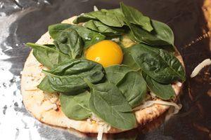Breakfast Pita-Pizza Recipe -   Food   Pinterest