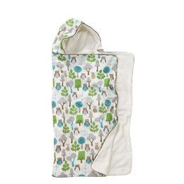 Owls Hooded Towel