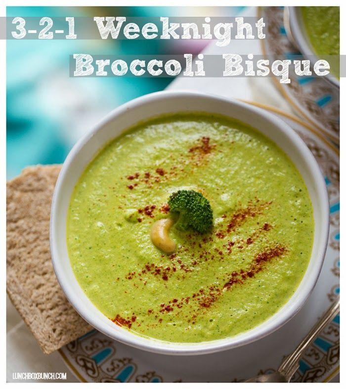 3-2-1 Weeknight Broccoli Bisque