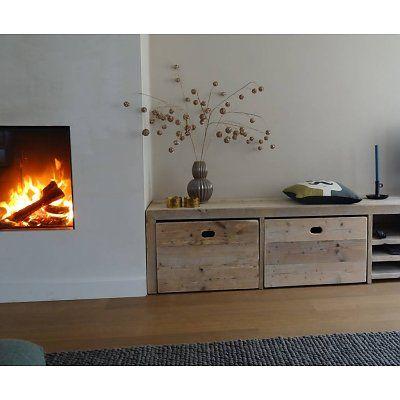 Opbergbank steigerhout