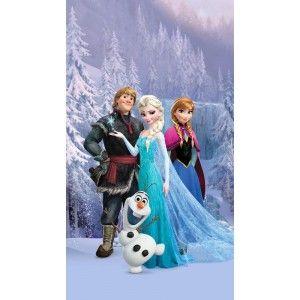 Jégvarázs, Frozen, Elsa és barátai függöny, blackout (140 x 245 cm)
