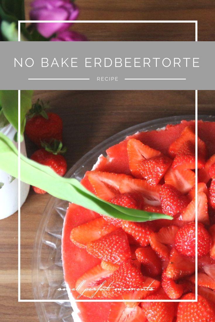 Food: No Bake-Erdbeertorte zum Muttertag