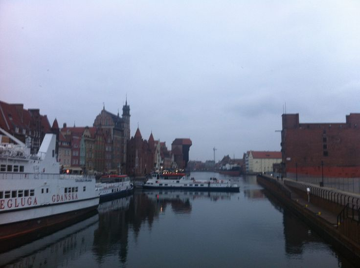 #Gdańsk in November, #Poland
