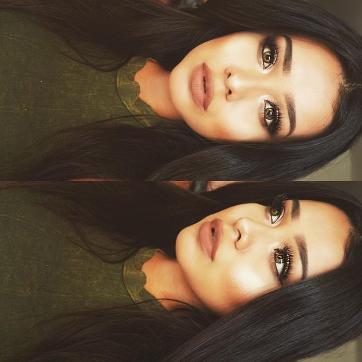 "Pinterest: @veronicanicolemakeup Alva Jay on Instagram: ""Last spam from yesterday details • face: @anastasiabeverlyhills original contour kit & #abhilluminator in ""Starlight"" • #bissu blush in tostado ✖️ eyes: @toofaced chocolate bar palette, absolutely love this palette • @nyxcosmetics matte liquid liner black @ tres jolie black • Lashes: #grandglamor @vegas_nay ✨ | lips: Lolita @katvondbeauty | #anastasiabrows dip brow ebony • lenses: Hazel @flashyandbroke"""