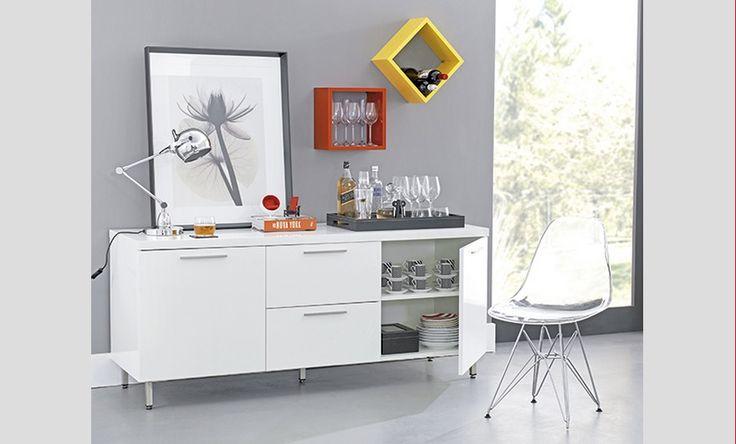 Decoracao De Sala Tok Stok ~ Decoração sala de jantar, tendência Hype Tok Stok Amarelo