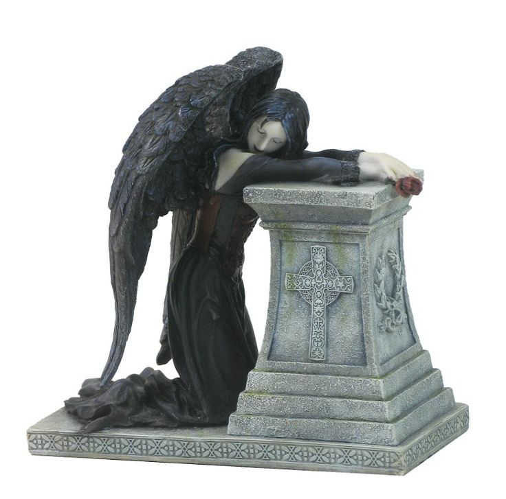Fallen angel - Figurine ange gothique