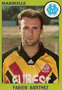 Barthez, extraña foto del Campeon 1998