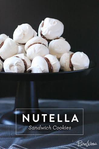 Enough said. Get this original @nutellausa sandwich cookie recipe on @PureWow.