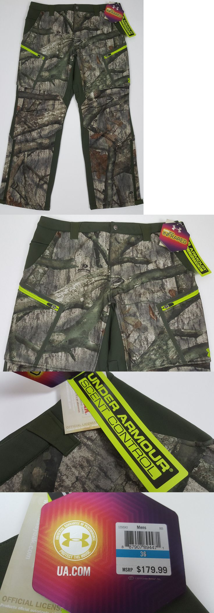 Pants and Bibs 177873: Under Armour Cgi Sc Speed Freek Hunting Pants Mossy Oak Camo $180 1250543 =Sz 36 -> BUY IT NOW ONLY: $74.99 on eBay!