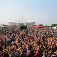 East Coast Radio Durban Day... Another great local event. Top bands, top crowd - let's just hope for great weather!