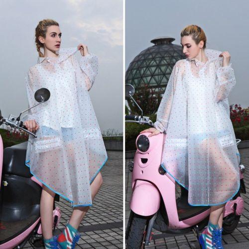 NEW-Regenponcho-Regencape-Fahrrad-Jacke-Regenschutz-Rain-Cape-Herren-Damen