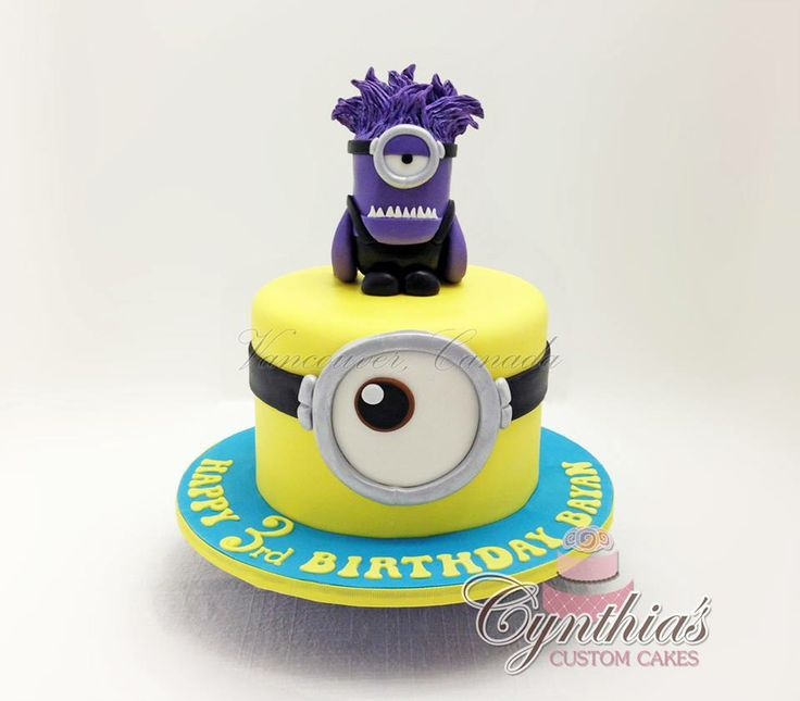 Happy 35th Birthday Highlands Ranch: 115 Best Despicable Me Cakes Images On Pinterest