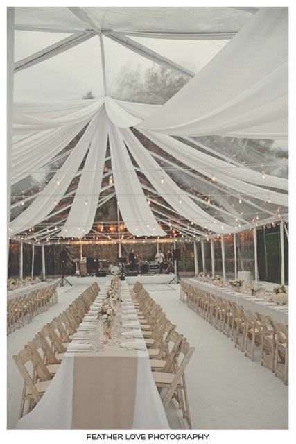 Feather Love photography- Marquee wedding reception