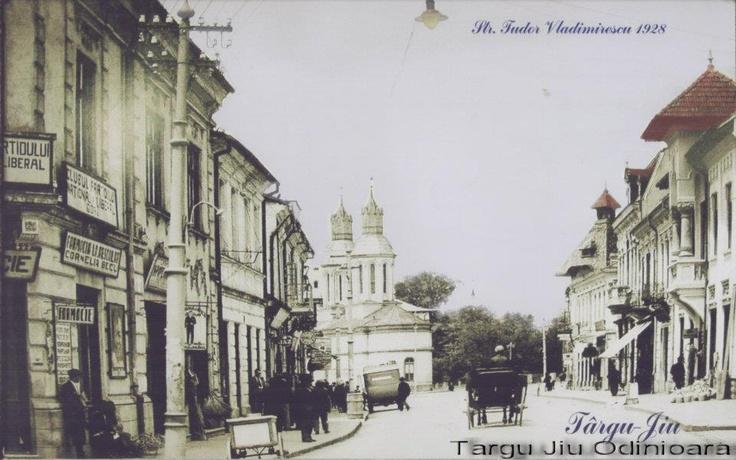 Targu Jiu - str Tudor Vladimirescu - 1928