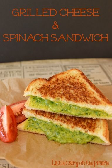 running shoes for you Grilled Cheese amp Spinach Sandwich  Recipe