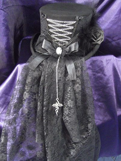 Gothic-Hats.co.uk - gothic style hats <-- A website full of gothy hats? Brilliant!