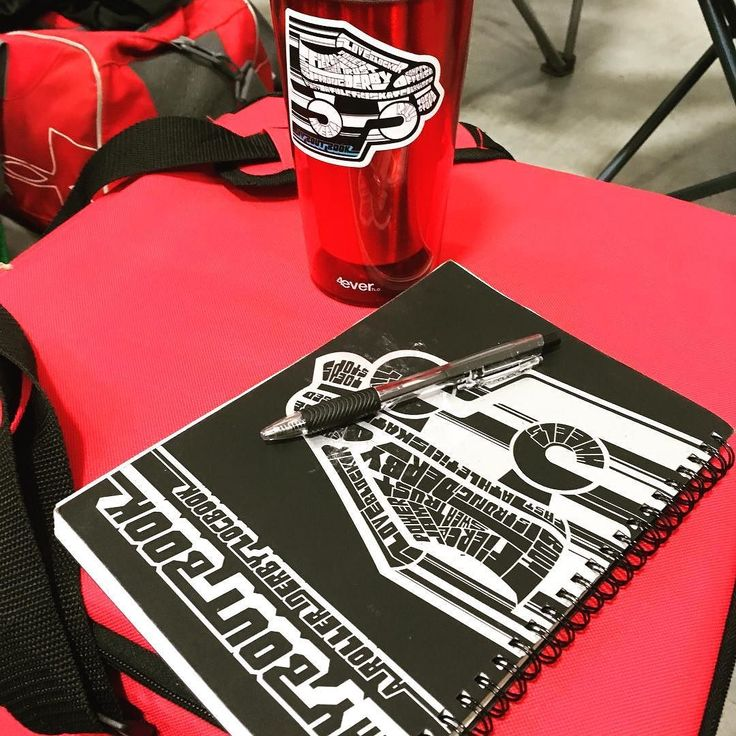 Getting ready to write all the amazing things in the EVRD bootcamp this weekend with Freight Train and Miracle Whips.  So stoked!  #rollerderby #skate #bootcamp #goodtimescoming