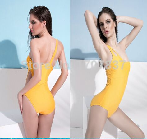 Find More One Pieces Information about 2015 New Yellow One ...