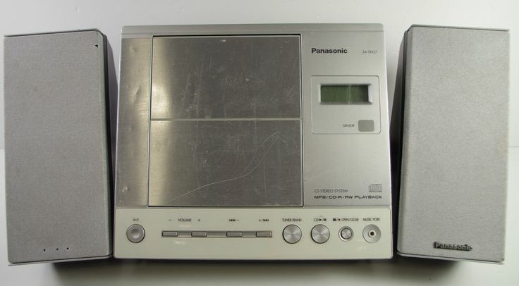 Panasonic Micro HiFi System CD Player Radio Model SA-EN27 (PREOWNED) 0701458
