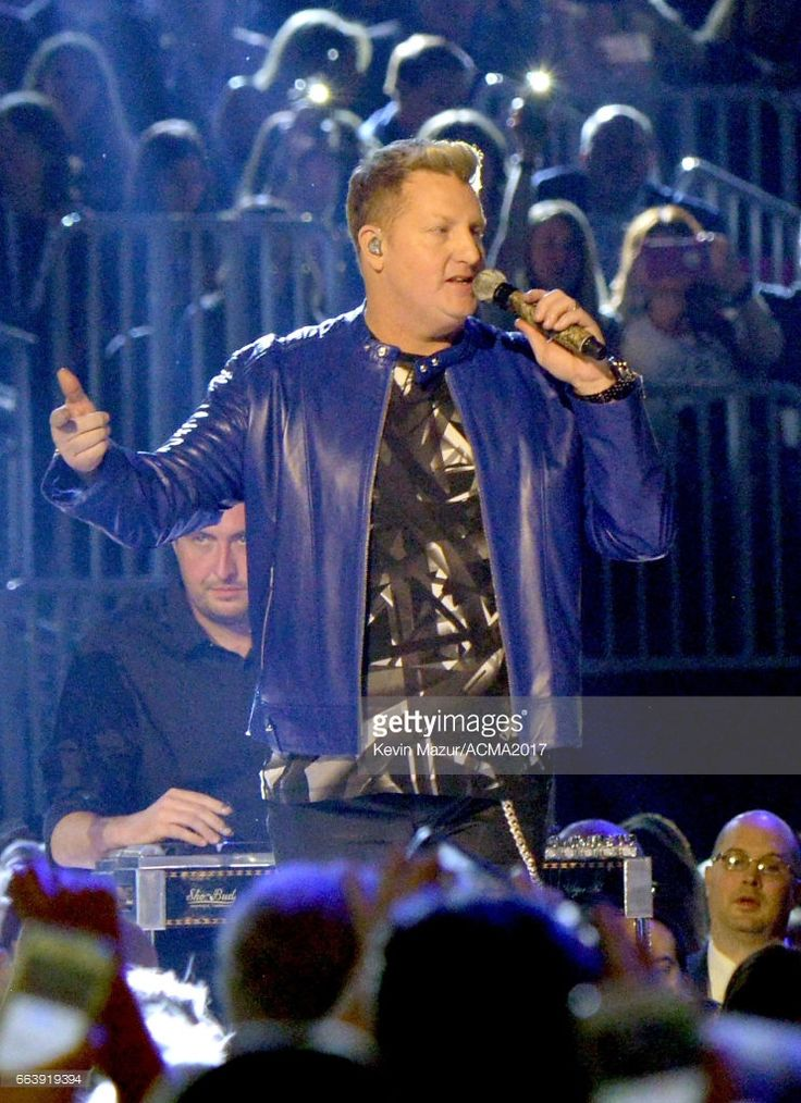 Recording artist Gary LeVox of music group Rascal Flatts perform onstage during the 52nd Academy Of Country Music Awards at T-Mobile Arena on April 2, 2017 in Las Vegas, Nevada.