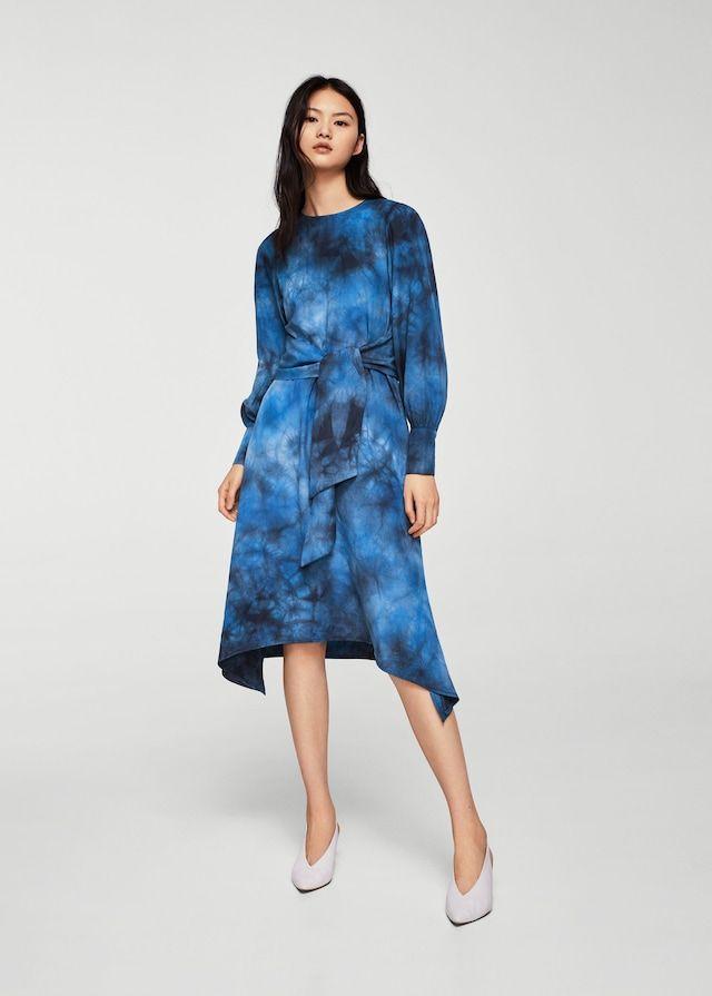 450329061705 Платье с принтом tie-dye - Платья - Женская в 2018 г.   shell ...