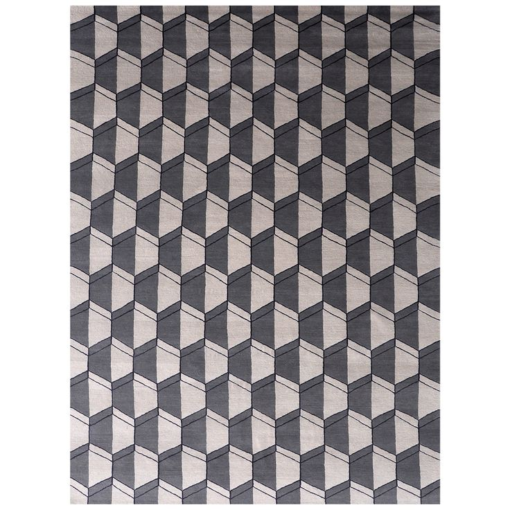 LINDSTROM RUGS Hive Hand-Knotted Wool And Silk Rug 9' x 12'