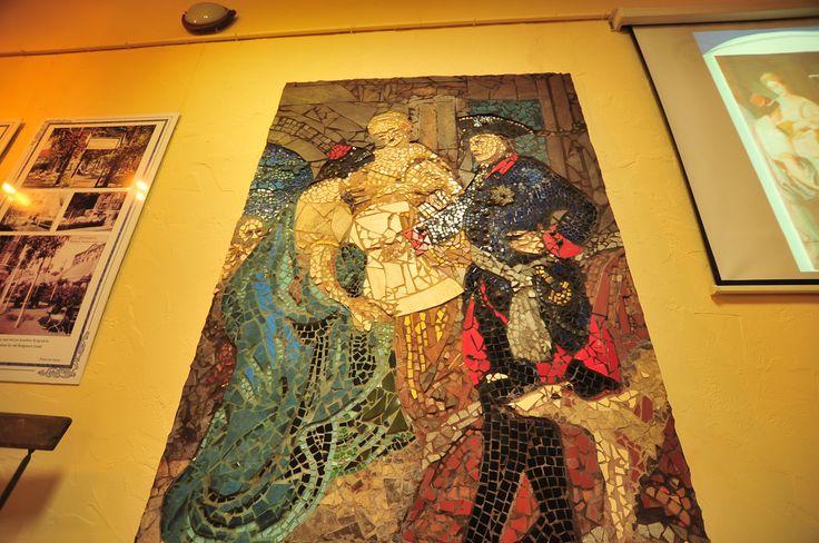 mozaika na podstawie obrazu
