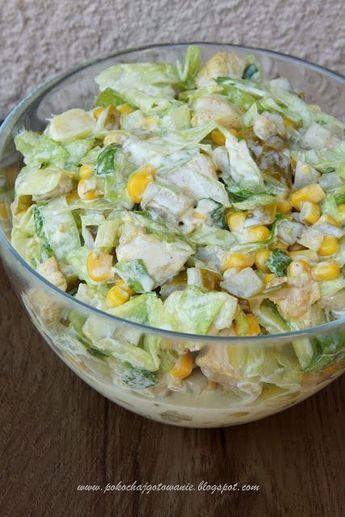 Pokochaj gotowanie: Sałatka z kurczakiem i marynowaną cebulką