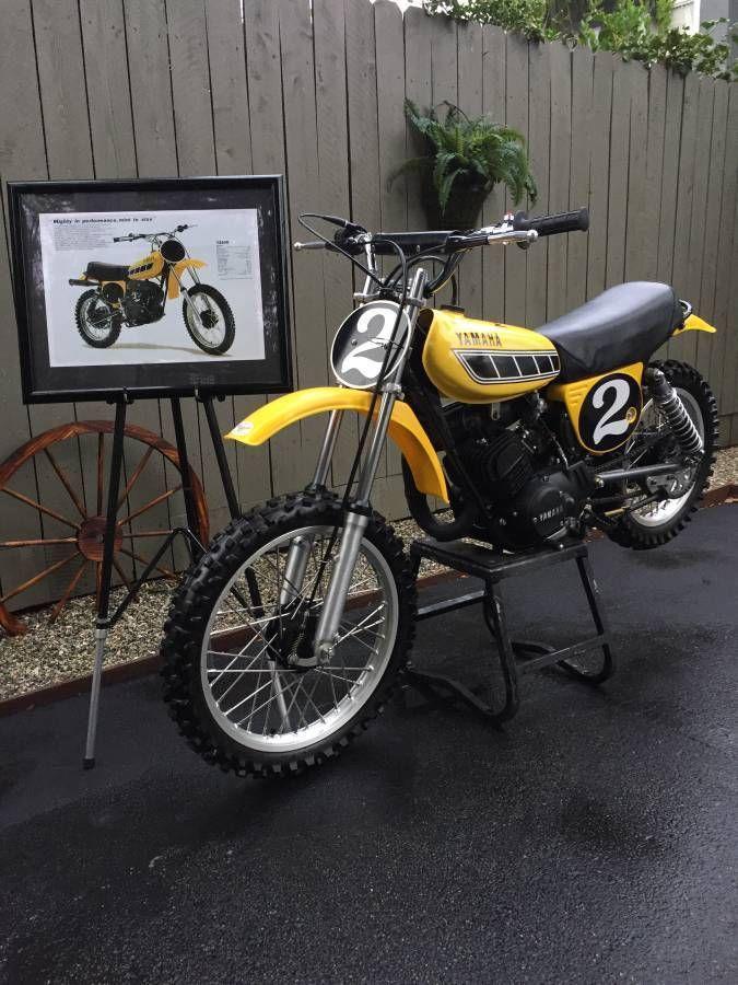 Ebay 1977 Yamaha Yz 1977 Yamaha Yz80d Vintage Motocross Mini Classic Vintage Motocross Motocross Bikes Yamaha
