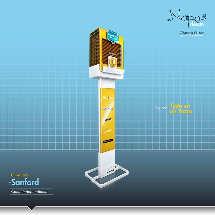 Dispensador de Lápices Sanford on Behance
