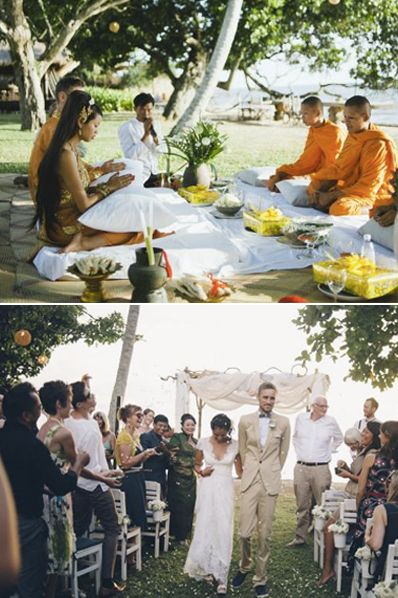 Cambodian western wedding