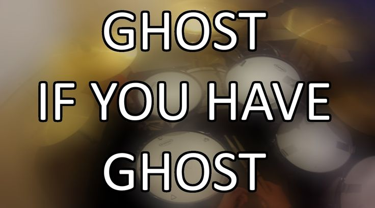 Ghost B.C. - If You Have Ghost Drum Cover (GoPro Head Cam Footage)