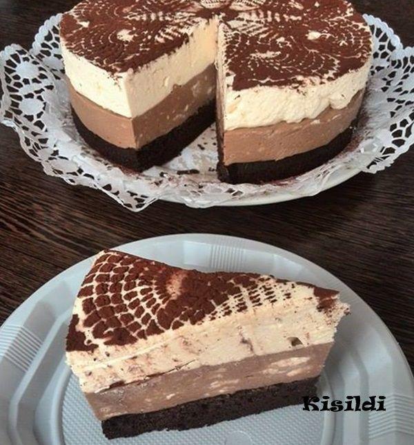 Kisildi: Anca születésnapi duplacsokis tortája