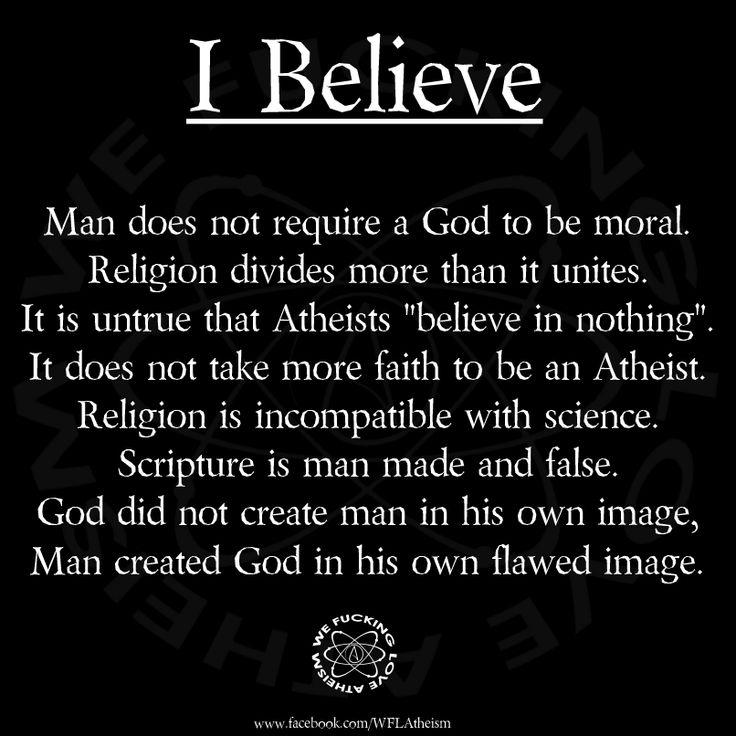 I believe - http://dailyatheistquote.com/atheist-quotes/2013/04/11/i-believe/