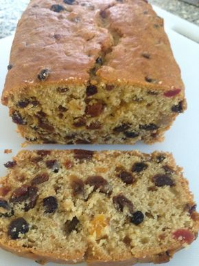Freda's apple and fruit loaf a lovely moist easy fruit cake - perfect for using up all those fallen apples