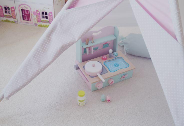 Teepee, kuchenka, pokój dziecięcy