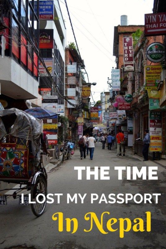 The time I lost my passport in Nepal: from crazy border check to a car chase, this is one you'll never forget