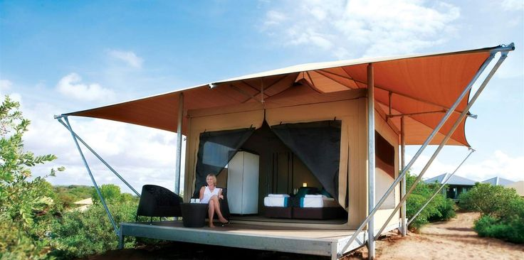I would love to go glamping while in Broome.