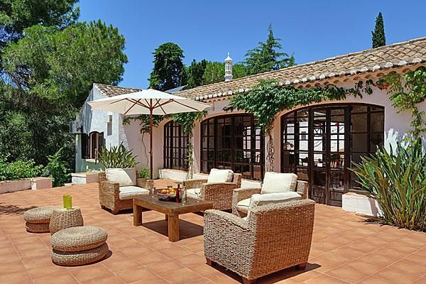 Sun terrace in Albufeira, Portugal