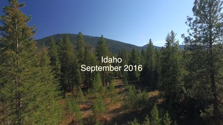 4k Northern Idaho Drone Footage Part 1