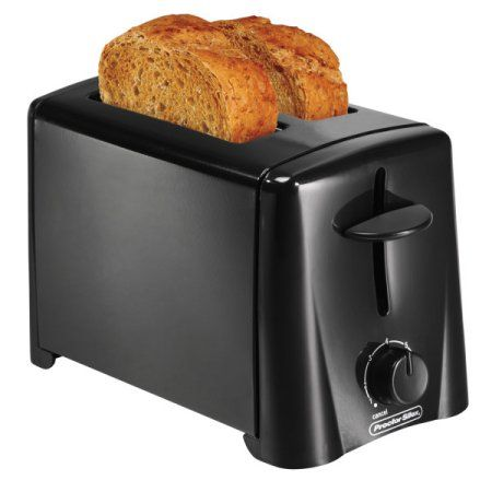 Hamilton Beach 2-Slice Toaster, Black