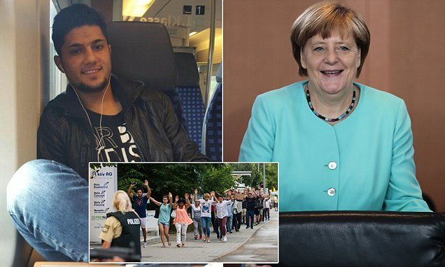 Germans have no idea of the type of people who were allowed into their country as a result of their leader Angela Merkel's decision to open Germany's doors during the migration crisis.